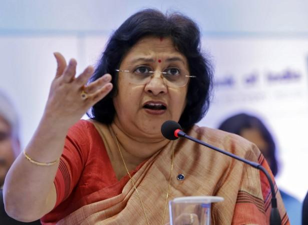 State Bank of India (SBI) chairwoman Arundhati Bhattacharya