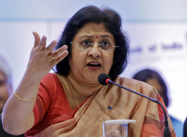 State Bank of India (SBI) chairperson Arundhati Bhattacharya