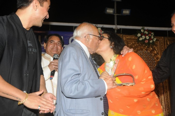 Ram Jethmalani and Leena Chandavarkar