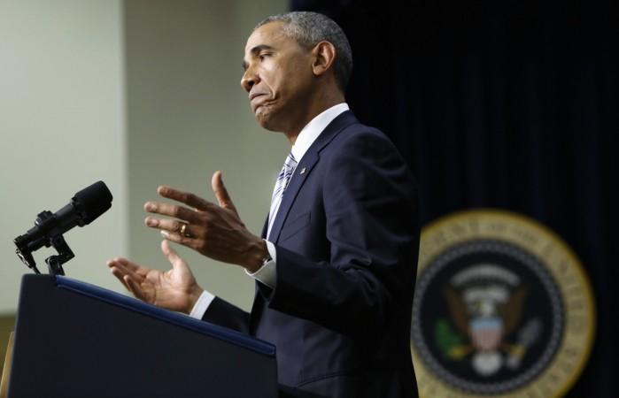 Barack Obama speaks at the White House Summit