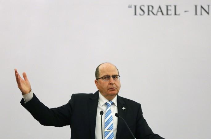 Israeli Defence Minister Moshe Ya'alon