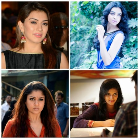 Hansika, Nayantara, Radhika and Harshika