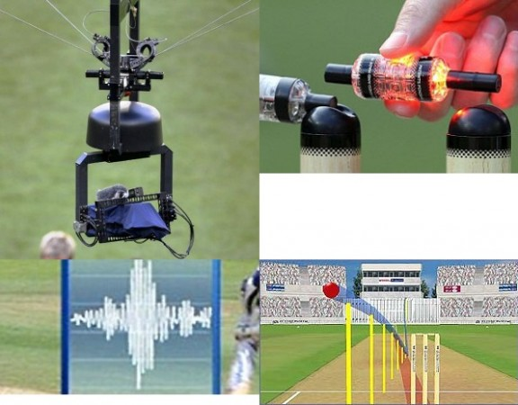 Spider Cam, LED Bails, Snicometer and Pitch Vision: Technologies that changed Cricket