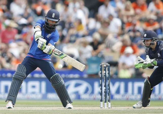 Moeen Ali England Scotland World Cup