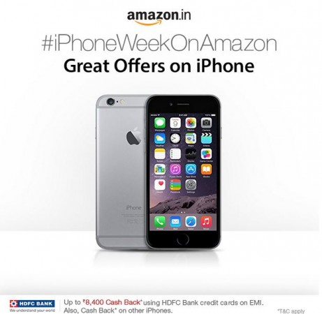 Amazon India iPhone Week: Company Offering Discounts, Gift Cards Worth up to ₹8,400 on Apple Smartphones