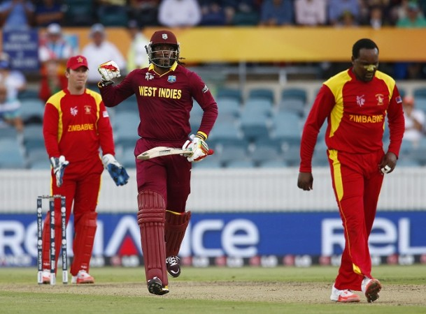 Chris Gayle Double Hundred World Cup 2015 West Indies Zimbabwe