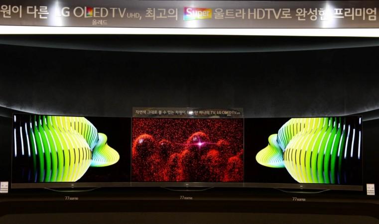 LG launches series of premium TV's