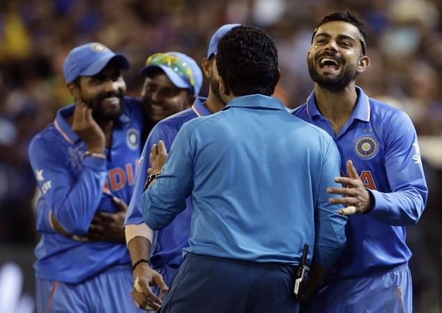 Virat Kohli Suresh Raina Ravindra Jadeja World Cup 2015