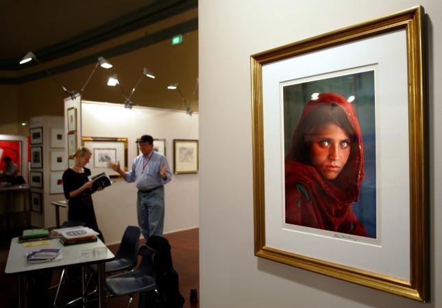 Afghan Mona Lisa