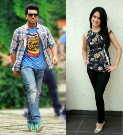 Kriti Kharbanda and Ram Charan Teja