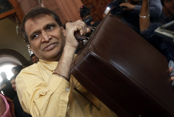 Indian Railway Minister Suresh Prabhu