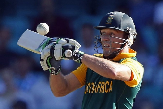 AB De Villiers South Africa World Cup 2015