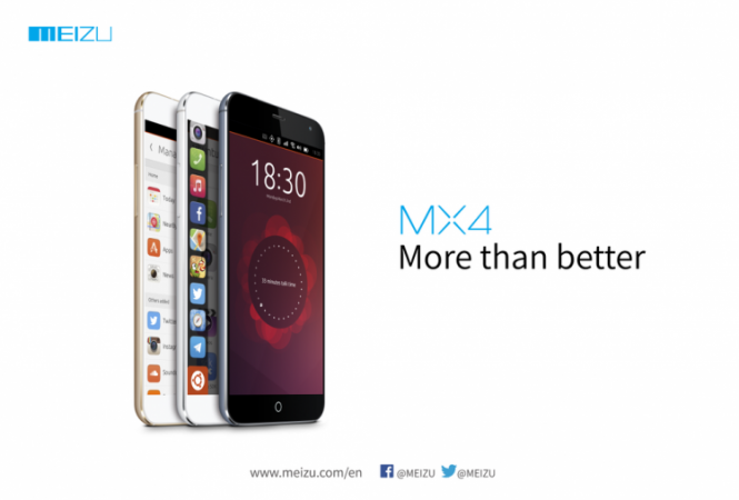 Meizu to Launch Octa-Core Ubuntu Smartphone MX4  at MWC 2015