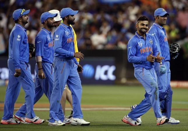 India World Cup 2015 Virat Kohli MS Dhoni