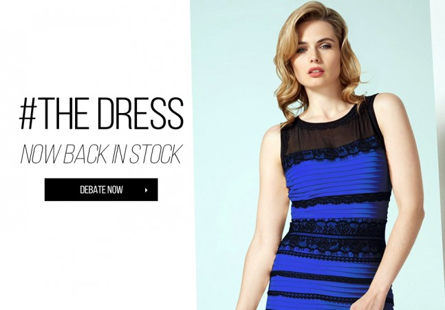 #TheDress is all that took for a fashion firm to grow exponentially within hours.