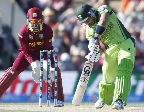 Umar Akmal Pakistan Denesh Ramdin West Indies World Cup 2015
