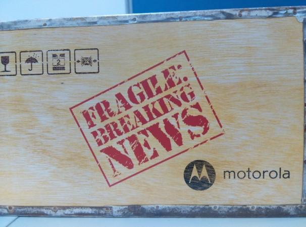 Moto E 2nd generation Press Invitation