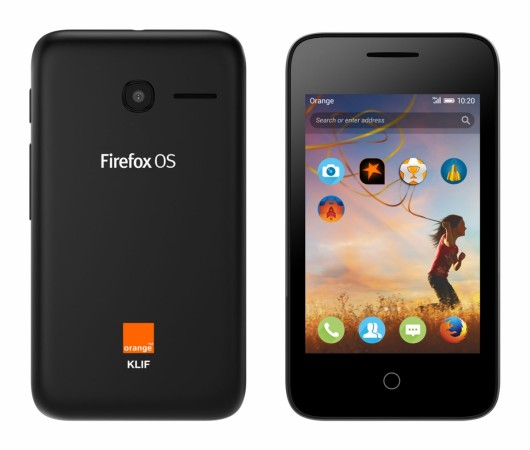 Firefox powered smartphone