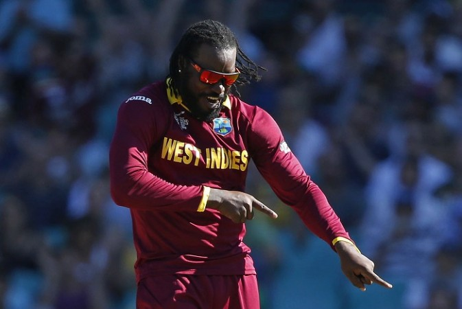 Chris Gayle West Indies World Cup 2015
