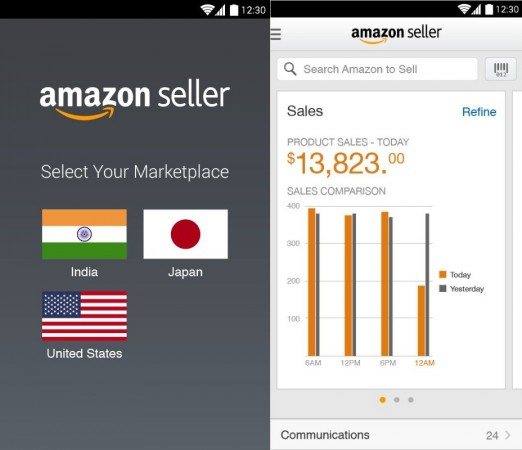 Amazon Sellers Android app