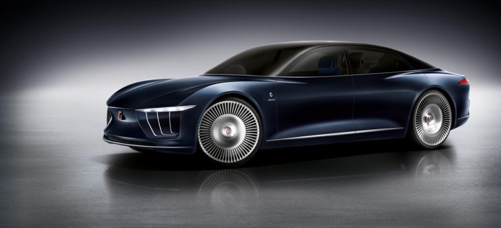 Gea Concept Car showcased at International Motor Show, 2015