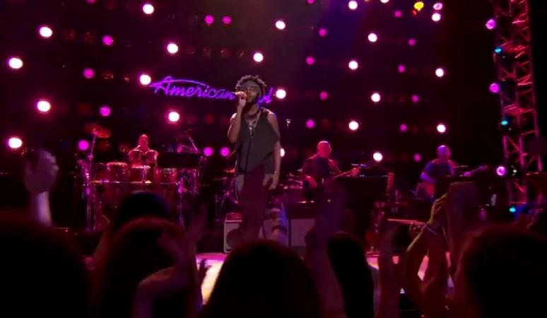 "Quentin Alexander performing Stevie Wonder's ""Master Blaster (Jammin')"" on American Idol XIV 2015"