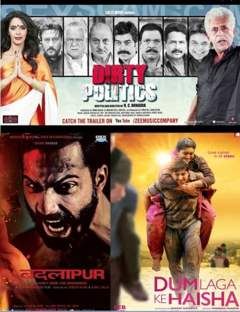 Dum Laga Ke Haisha, Badlapur and Dirty Politics