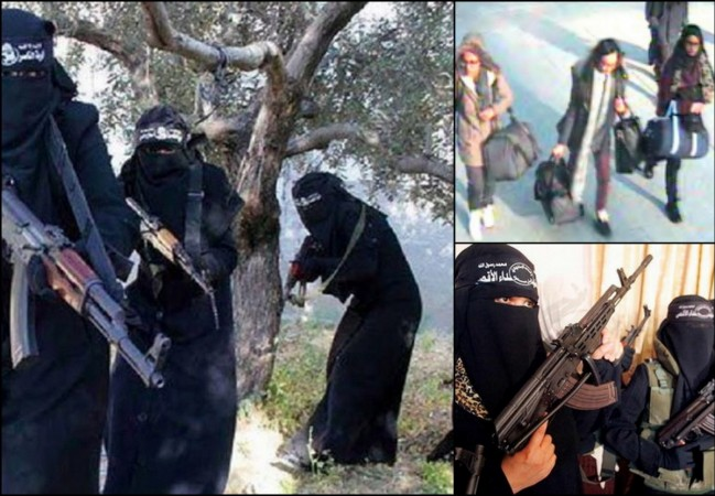 3 British teen girls,who had fled the country to become Jihadi Brides, are currently being trained in an Isis camp in Raqqa.