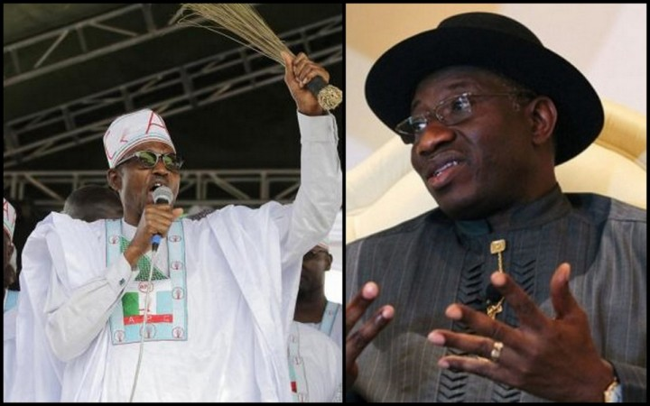 Incumbent President Goodluck Jonathan and the lead opposition candidate, Major-General Muhammadu Buhari (Right) will be the two main contenders of the 2015 general elections.
