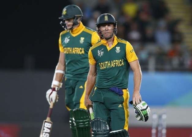 Morne Morkel AB De Villiers South Africa ICC Cricket World Cup 2015