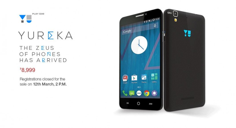 Micromax YU Yureka Flash Sale 9.0 to go Live on 12 March