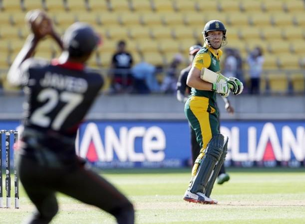 AB De Villiers South Africa UAE ICC Cricket World Cup 2015
