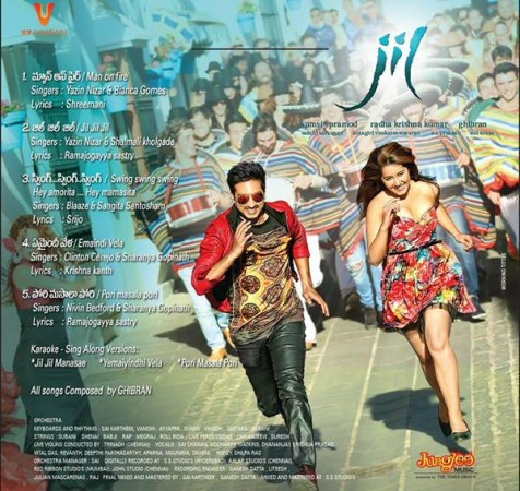 Gopichand and Raashi Khanna in Jil