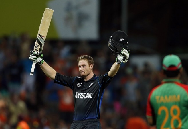 Martin Guptill New Zealand ICC Cricket World Cup 2015