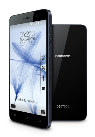 Karbonn Launches Titanium Mach Two smartphone in India
