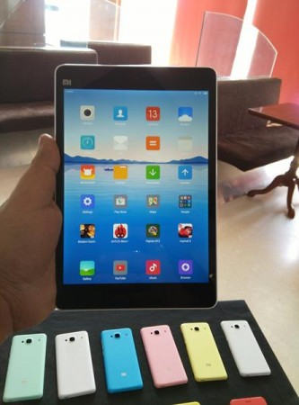 Xiaomi Mi Pad Front View