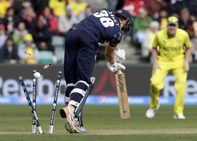 Josh Davey Scotland Australia ICC Cricket World Cup 2015