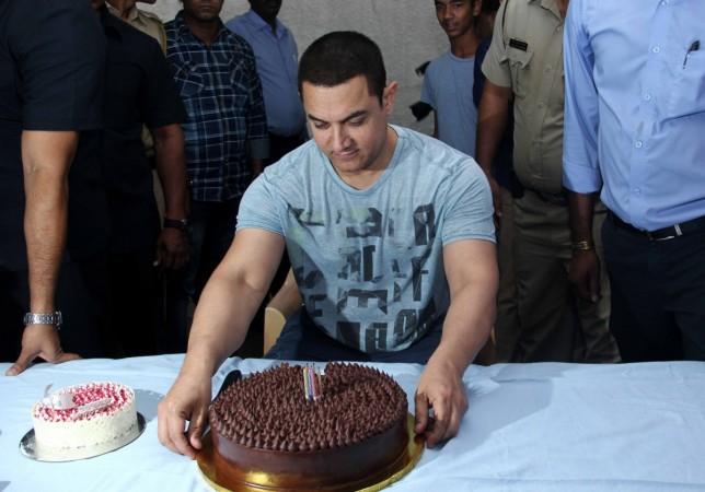 Aamir Khan celebrates his 50th birthday