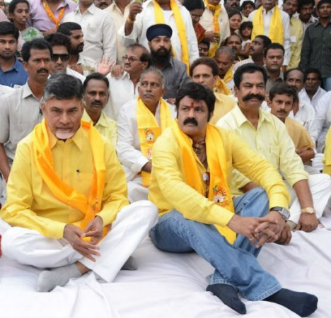 Nara Chandrababu Naidu and Balakrishna
