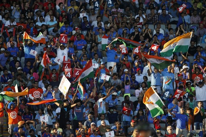 India Fans ICC Cricket World Cup 2015