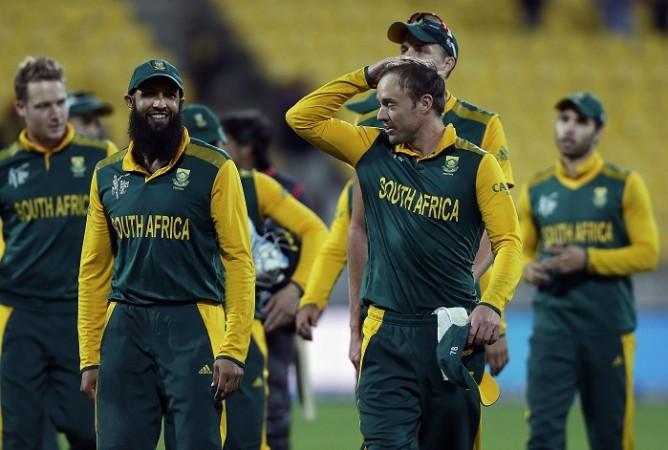 Hashim Amla AB De Villiers South Africa ICC Cricket World Cup 2015