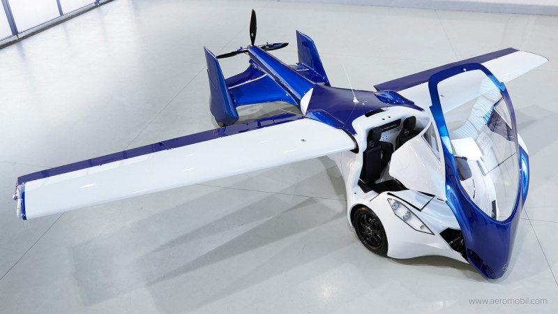AeroMobil 3.0, a car that can actually fly