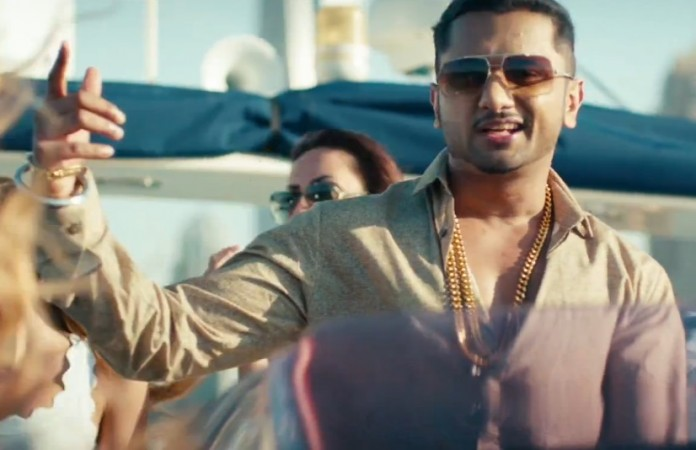 Yo Yo Honey Singh in 'One Bottle Down' Video