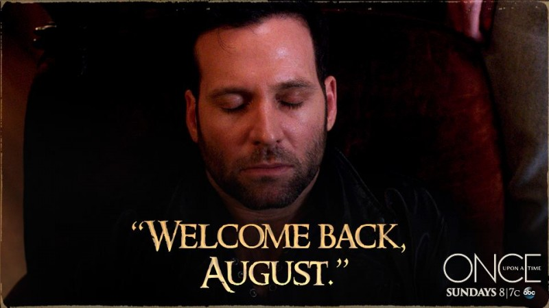 August is back in 'Once Upon a Time'