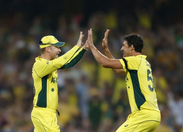 Michael Clarke Mitchell Starc ICC Cricket World Cup 2015