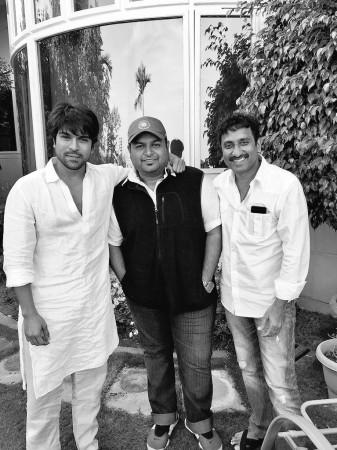 Ram Charan, SS Thaman and Srinu Vaitla