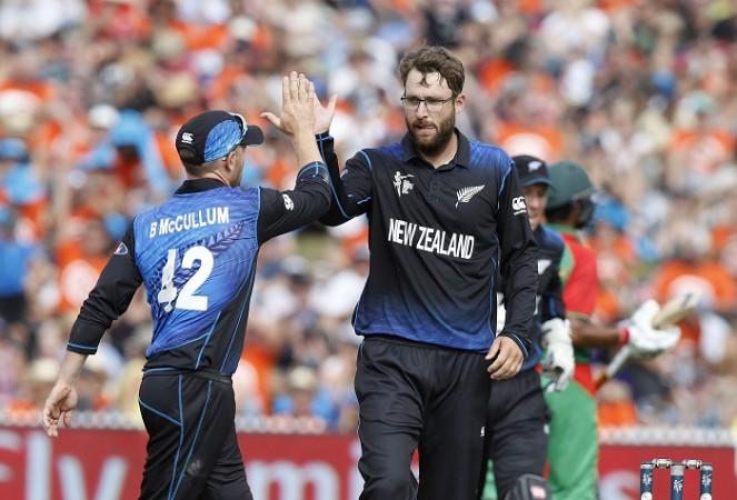 Brendon McCullum Daniel Vettori New Zealand ICC Cricket World Cup 2015