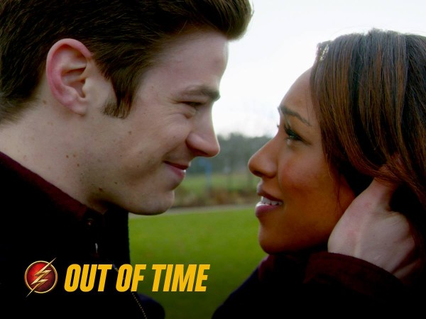 Iris and Barry in 'The Flash'