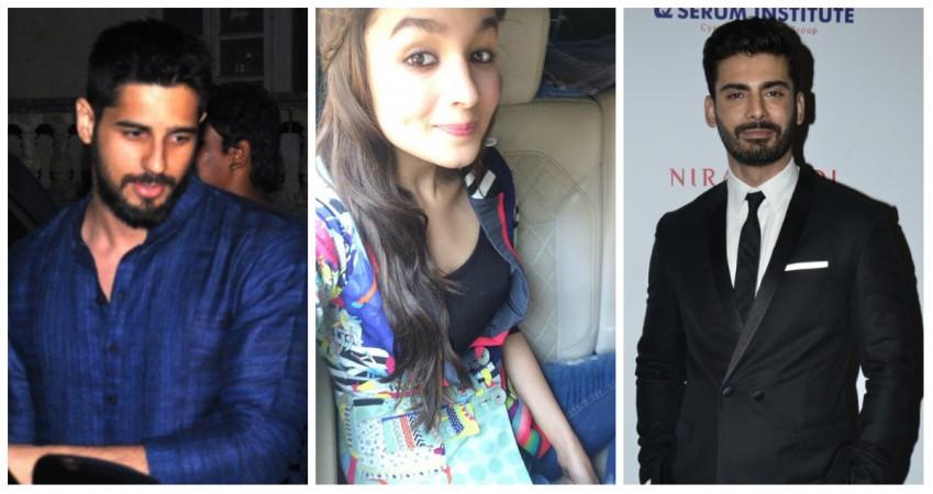 Sidharth Malhotra, Alia Bhatt, Varun Dhawan