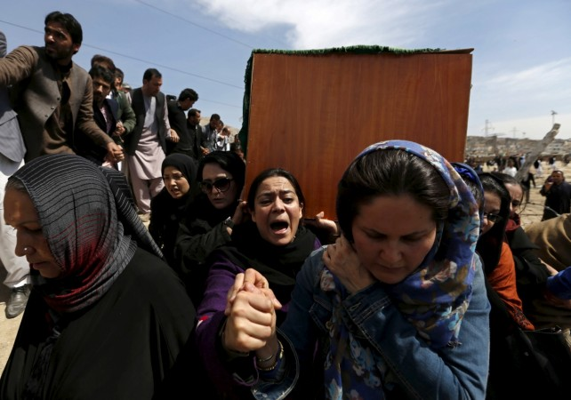 Afghan woman lynched